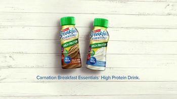 Carnation Breakfast Essentials High Protein TV Spot, 'Get Going' - Thumbnail 8
