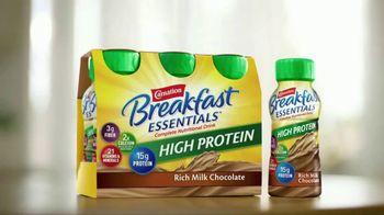 Carnation Breakfast Essentials High Protein TV Spot, 'Get Going' - Thumbnail 4