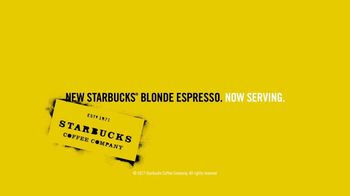 Starbucks Blonde Espresso TV Spot, 'Now Serving Blonde Espresso: Yodel' - Thumbnail 8