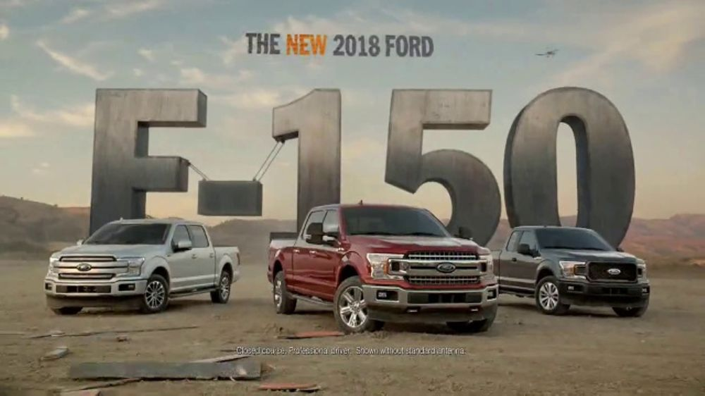 2018 Ford F 150 Tv Commercial The New 2018 F 150 Rewrites The
