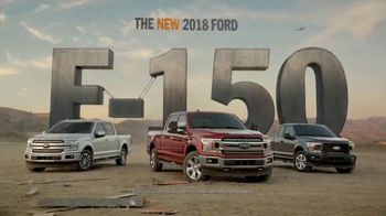 2018 Ford F-150 TV Spot, 'The New 2018 F-150 Rewrites the Truck Laws' - 2118 commercial airings