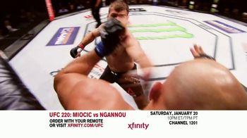 UFC 220 TV Spot, 'XFINITY: Miocic vs. Ngannou' - Thumbnail 1
