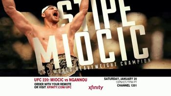 UFC 220 TV Spot, 'XFINITY: Miocic vs. Ngannou' - Thumbnail 2