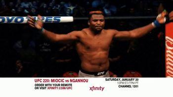 UFC 220 TV Spot, 'XFINITY: Miocic vs. Ngannou' - Thumbnail 3
