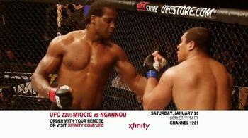 UFC 220 TV Spot, 'XFINITY: Miocic vs. Ngannou' - Thumbnail 5