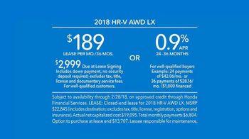 2018 Honda HR-V TV Spot, 'Greatness Within Reach: Leslie' [T2] - Thumbnail 8