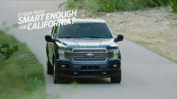 Ford Truck Month TV Spot, 'Smart Enough for California' [T2] - Thumbnail 1