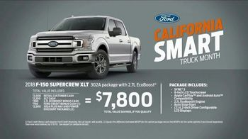 Ford Truck Month TV Spot, 'Smart Enough for California' [T2] - Thumbnail 6