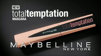 Maybelline Total Temptation Mascara TV Spot, 'Soft Lashes' - Thumbnail 8