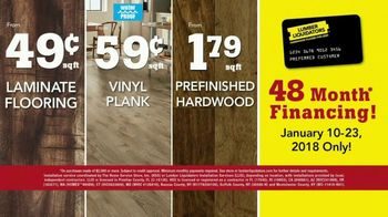Lumber Liquidators January Flooring Sale TV Spot, 'Hardwood & Bamboo' - Thumbnail 8