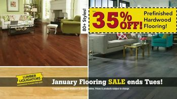 Lumber Liquidators January Flooring Sale TV Spot, 'Hardwood & Bamboo'