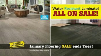 Lumber Liquidators January Flooring Sale TV Spot, 'Hardwood & Bamboo' - Thumbnail 2