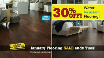 Lumber Liquidators January Flooring Sale TV Spot, 'Hardwood & Bamboo' - Thumbnail 3