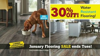 Lumber Liquidators January Flooring Sale TV Spot, 'Hardwood & Bamboo' - Thumbnail 4