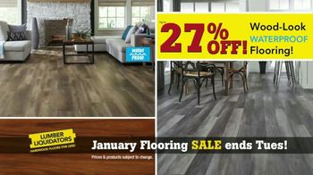 Lumber Liquidators January Flooring Sale TV Spot, 'Hardwood & Bamboo' - Thumbnail 5