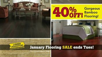 Lumber Liquidators January Flooring Sale TV Spot, 'Hardwood & Bamboo' - Thumbnail 6