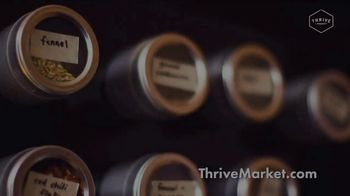Thrive Market TV Spot, 'Organic and Non-GMO Products: 20 Percent Off' - Thumbnail 1