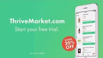 Thrive Market TV Spot, 'Organic and Non-GMO Products: 20 Percent Off' - Thumbnail 9