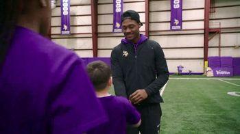 NFL Character Playbook TV Spot, 'Vikings Training Camp' Feat. Stefon Diggs - Thumbnail 3