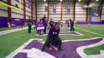 NFL Character Playbook TV Spot, 'Vikings Training Camp' Feat. Stefon Diggs - Thumbnail 5
