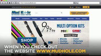 Mud Hole Custom Tackle TV Spot, 'Rod Kits' - Thumbnail 3