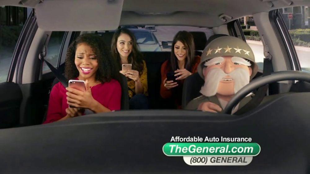 Roadside Assistance Progressive >> The General TV Commercial, 'Cruising Girlfriends' - iSpot.tv