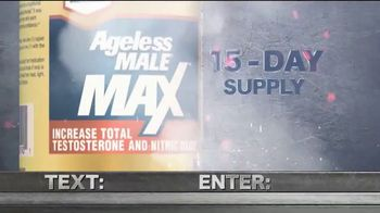 Ageless Male MAX TV Spot, 'No More Excuses'