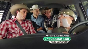 The General TV Spot, 'Cruising Cowboys' - 10594 commercial airings