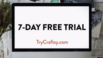 Craftsy TV Spot, 'Streaming Video for Crafters' - Thumbnail 10