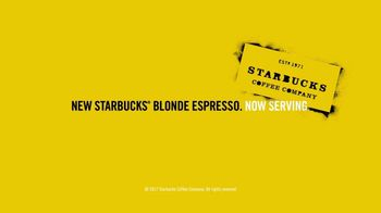 Starbucks Blonde Espresso TV Spot, 'Now Serving: Subtly Sweet & Smooth' - Thumbnail 6