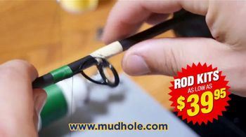 Mud Hole Custom Tackle Rod Kits TV Spot, 'Build It to Your Specifications' - Thumbnail 6