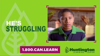 Huntington Learning Center TV Spot, 'Struggling in School: Save $100'