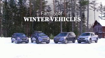 Honda Bring On Winter Sales Event TV Spot, 'Own the Road' [T2] - Thumbnail 2