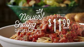 Olive Garden Never Ending Classics TV Spot, 'It's Back!' [Spanish] - Thumbnail 4