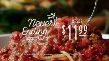 Olive Garden Never Ending Classics TV Spot, 'It's Back!' [Spanish] - Thumbnail 9