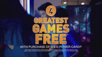 Dave and Buster's TV Spot, 'The Four Greatest Games'