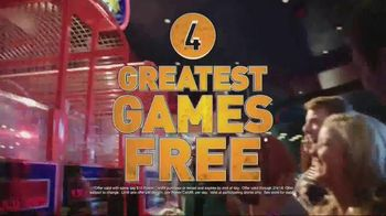 Dave and Buster's TV Spot, 'Greatest Hits: Play Four Games Free' - Thumbnail 2