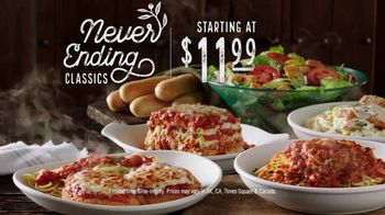Olive Garden Never Ending Classics TV Spot, 'Mix It Up' - Thumbnail 8