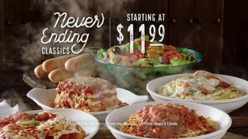 Olive Garden Never Ending Classics TV Spot, 'Mix It Up' - Thumbnail 7