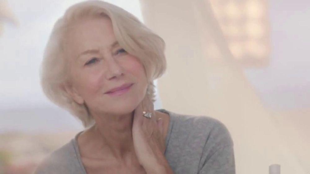 Helen mirren cosmetic ad