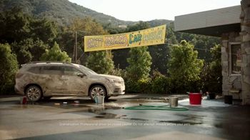 Subaru Ascent TV Spot, 'Dog Tested: Car Wash' [T1] - Thumbnail 1