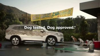 Subaru Ascent TV Spot, 'Dog Tested: Car Wash' [T1] - Thumbnail 10
