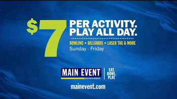 Main Event Entertainment TV Spot, '$7 Per Activity: Play All Day is Here!' - Thumbnail 8
