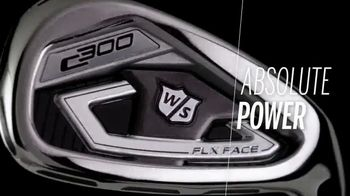 Wilson Staff C300 Irons TV Spot, 'Power Your Play' - Thumbnail 1