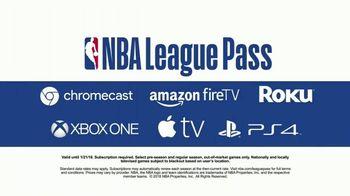 NBA League Pass TV Spot, 'Connected Devices' - Thumbnail 9