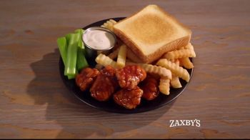 Zaxby's Spicy Honey BBQ Boneless Wings Meal TV Spot, 'Appetite' - Thumbnail 3