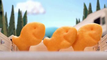 Goldfish Baked Cheddar TV Spot, 'Goldfish in the Car' [Spanish] - Thumbnail 6