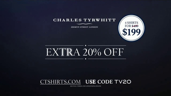 Charles Tyrwhitt Proper Shirts TV Spot, 'British Design' - Thumbnail 9