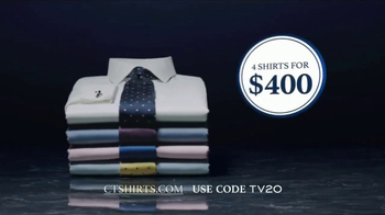 Charles Tyrwhitt Proper Shirts TV Spot, 'British Design' - Thumbnail 6