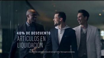 Men's Wearhouse TV Spot, 'Energice su guardarropa' [Spanish] - Thumbnail 6